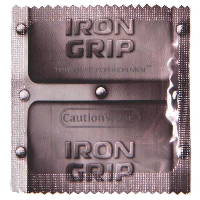 Caution Wear Iron Grip – World's Best Condom Awards Winner