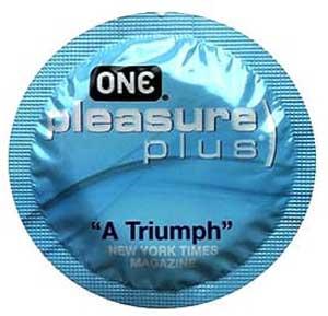 ONE Pleasure Plus – World's Best Condom Awards Winner